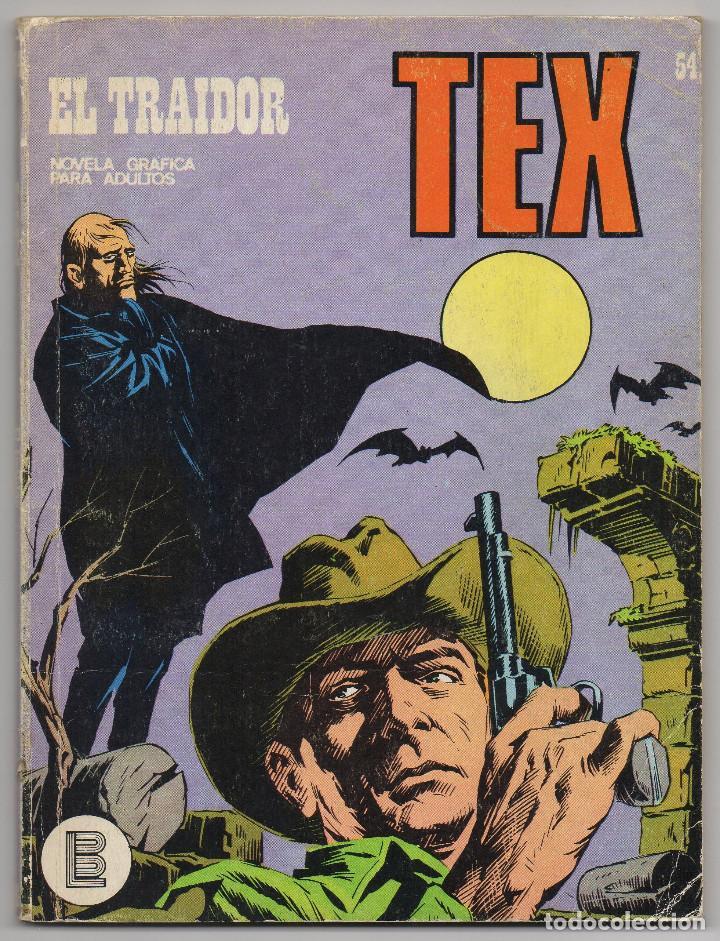 Cómics: TEX nº 44, 46, 49, 51, 54, 56, 57, 60, 61, 65 y 69 (Buru-Lan 1972/73) 11 novelas. - Foto 14 - 243128705