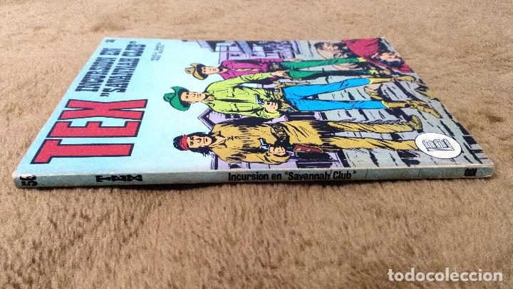 Cómics: TEX nº 44, 46, 49, 51, 54, 56, 57, 60, 61, 65 y 69 (Buru-Lan 1972/73) 11 novelas. - Foto 18 - 243128705