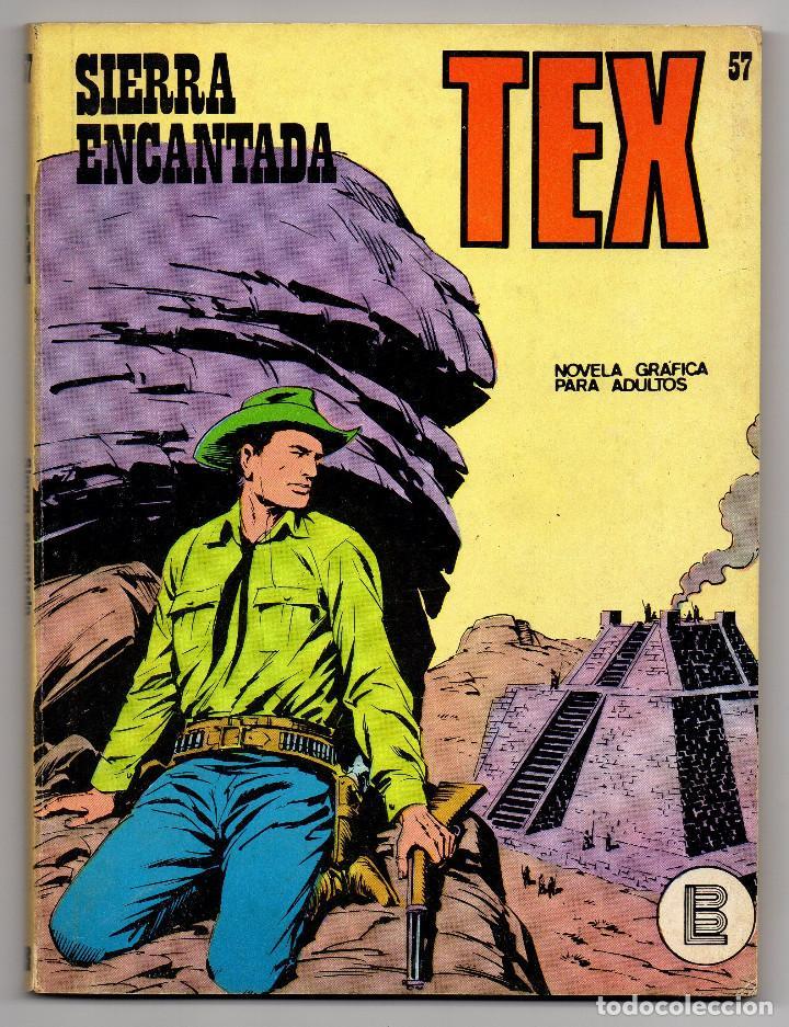 Cómics: TEX nº 44, 46, 49, 51, 54, 56, 57, 60, 61, 65 y 69 (Buru-Lan 1972/73) 11 novelas. - Foto 20 - 243128705