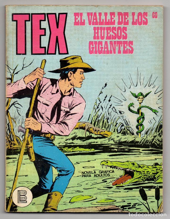 Cómics: TEX nº 44, 46, 49, 51, 54, 56, 57, 60, 61, 65 y 69 (Buru-Lan 1972/73) 11 novelas. - Foto 23 - 243128705