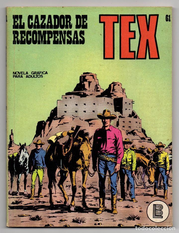 Cómics: TEX nº 44, 46, 49, 51, 54, 56, 57, 60, 61, 65 y 69 (Buru-Lan 1972/73) 11 novelas. - Foto 26 - 243128705