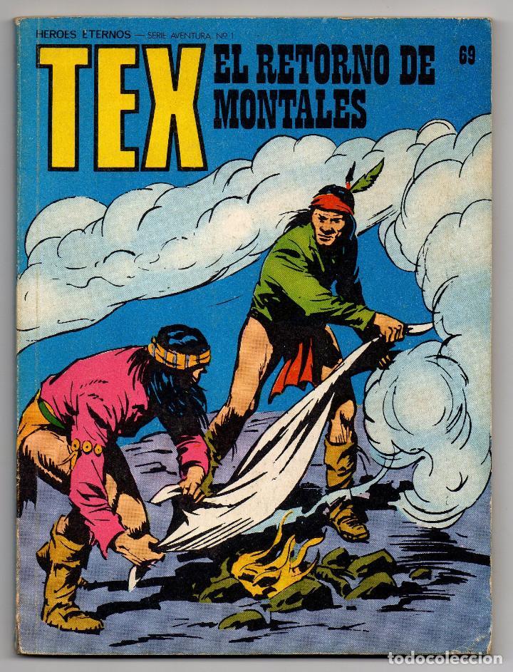 Cómics: TEX nº 44, 46, 49, 51, 54, 56, 57, 60, 61, 65 y 69 (Buru-Lan 1972/73) 11 novelas. - Foto 32 - 243128705