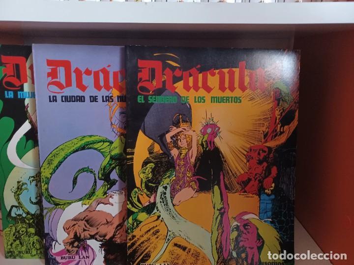 DRACULA BURULAN - ESTEBAN MAROTO-COLECCIÓN COMPLETA DE TRES TOMOS EN RUSTICA (Tebeos y Comics - Buru-Lan - Drácula)