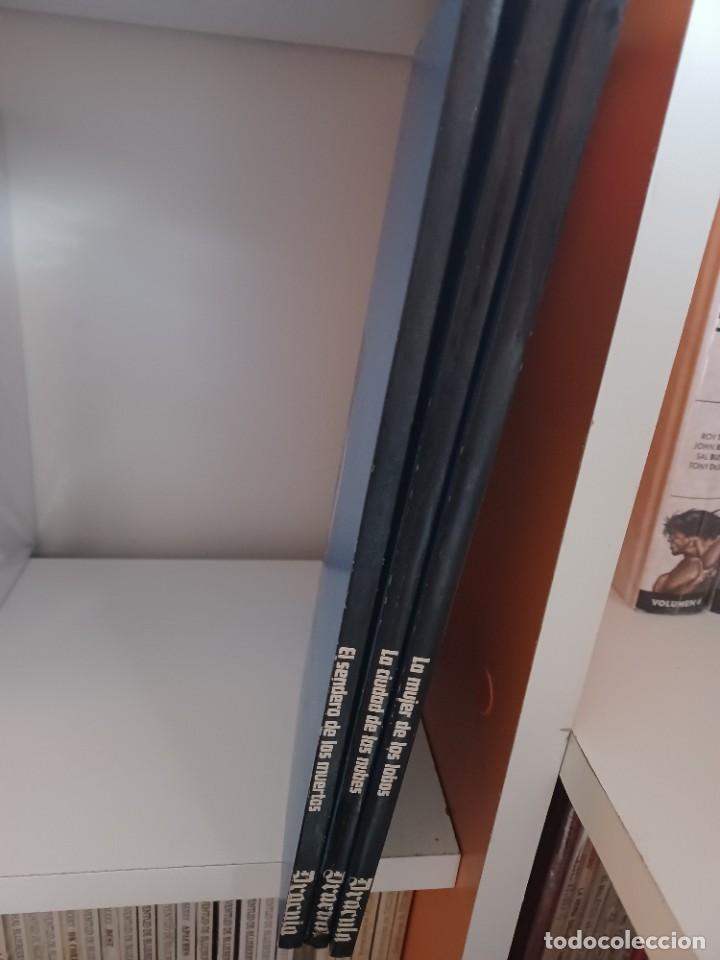 Cómics: DRACULA BURULAN - ESTEBAN MAROTO-Colección Completa de TRES TOMOS en Rustica - Foto 4 - 273350763