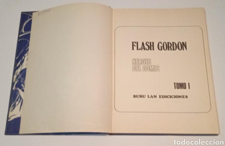 Cómics: FLASH GORDON EN EL PLANETA MONGO - TOMO 1 - HEROES DEL COMIC - BURU LAN EDICIONES 1972 - Foto 3 - 273399183