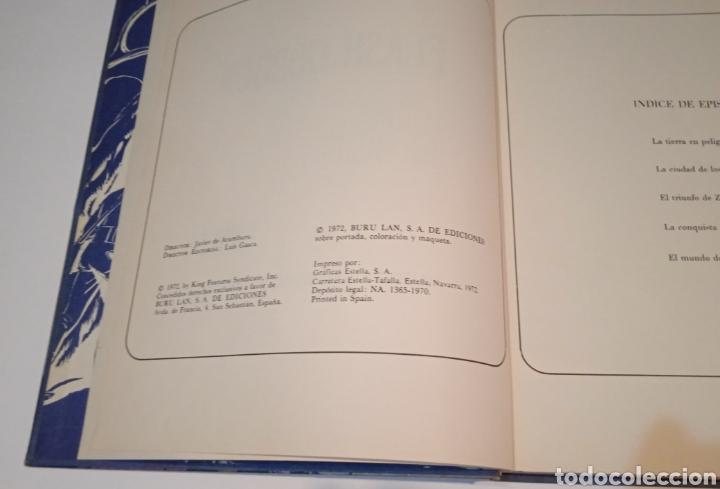 Cómics: FLASH GORDON EN EL PLANETA MONGO - TOMO 1 - HEROES DEL COMIC - BURU LAN EDICIONES 1972 - Foto 6 - 273399183