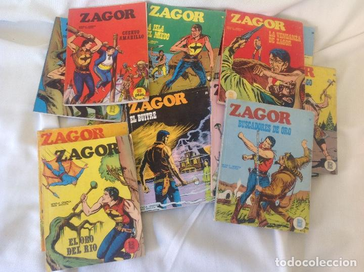 ZAGOR BURU LAN LOTE 18 NUMEROS (Tebeos y Comics - Buru-Lan - Zagor)