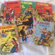 Cómics: ZAGOR BURU LAN LOTE 18 NUMEROS. Lote 242036200