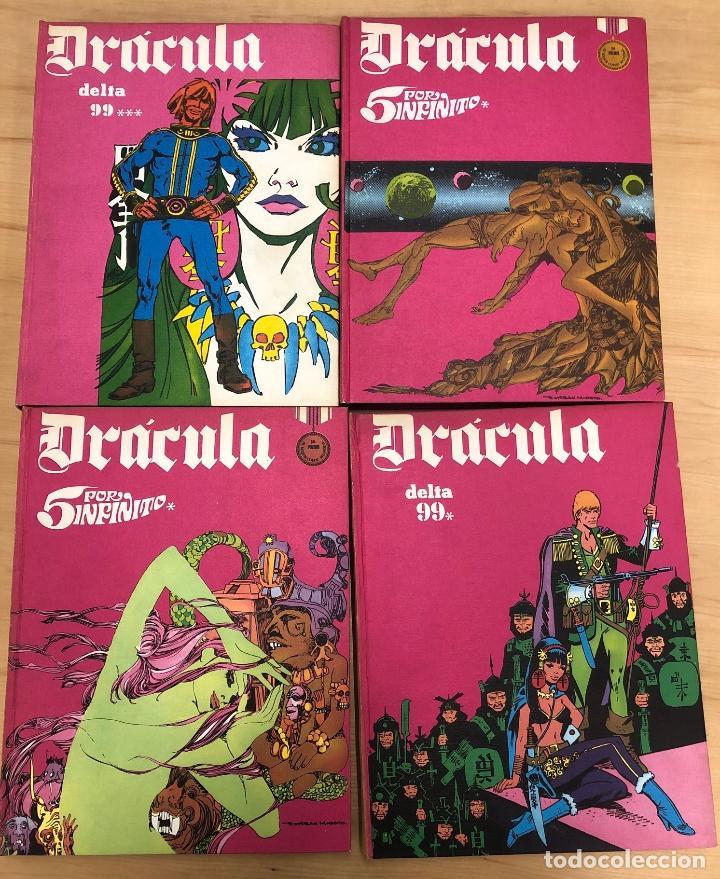 Cómics: DRACULA. DELTA 99. TOMOS 1 AL 4. BURU LAN 1971 - Foto 2 - 273925763