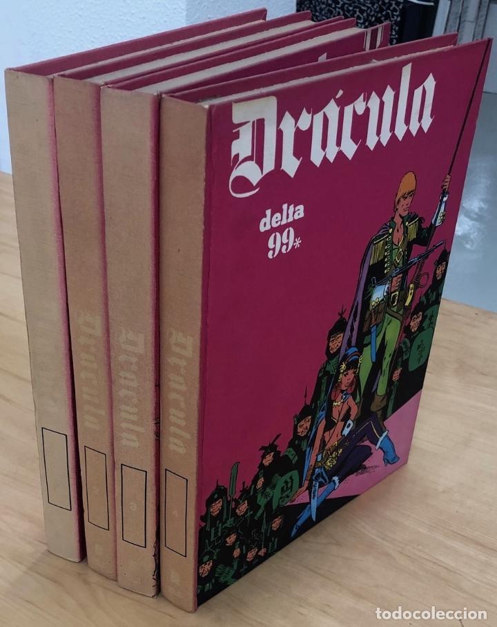 DRACULA. DELTA 99. TOMOS 1 AL 4. BURU LAN 1971 (Tebeos y Comics - Buru-Lan - Drácula)