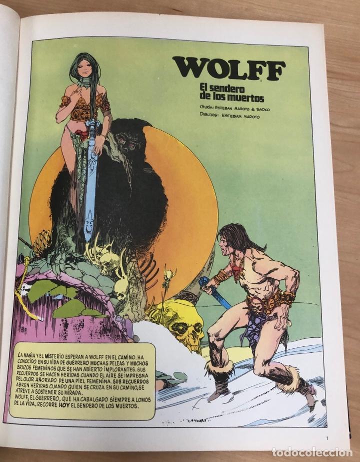 DRACULA. WOLFF. TOMO 1. BURU LAN. 1971 (Tebeos y Comics - Buru-Lan - Drácula)