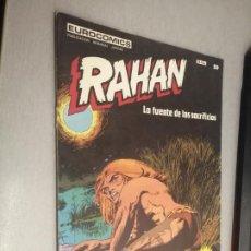 Comics: RAHAN Nº 20: LA FUENTE DE LOS SACRIFICIOS / EUROCOMICS - BURU LAN. Lote 274183848