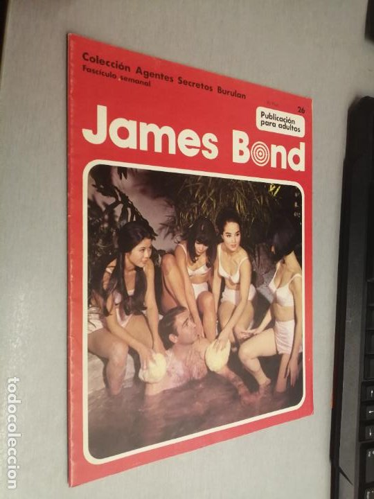 JAMES BOND Nº 26 - AGENTES SECRETOS BURULAN / BURU LAN (Tebeos y Comics - Buru-Lan - James Bond)