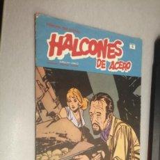 Cómics: HALCONES DE ACERO Nº 5 - HÉROES DEL CÓMIC / BURU LAN. Lote 274201698