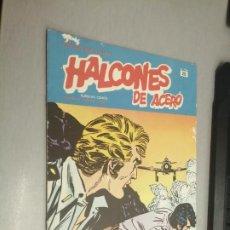 Cómics: HALCONES DE ACERO Nº 20 - HÉROES DEL CÓMIC / BURU LAN. Lote 274201788