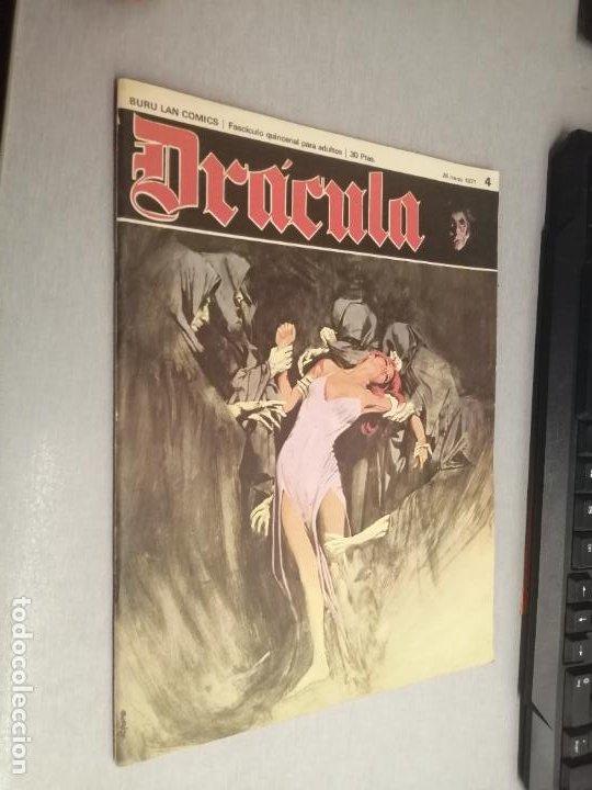 DRÁCULA Nº 4 / BURU LAN 1971 (Tebeos y Comics - Buru-Lan - Modesty Blaise)
