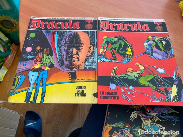 Cómics: DRACULA LOTE 23 EJEMPLARES (BURULAN) (COIB205) - Foto 3 - 275138943