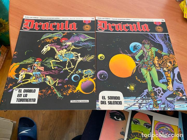 Cómics: DRACULA LOTE 23 EJEMPLARES (BURULAN) (COIB205) - Foto 4 - 275138943