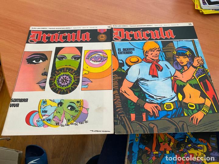 Cómics: DRACULA LOTE 23 EJEMPLARES (BURULAN) (COIB205) - Foto 5 - 275138943
