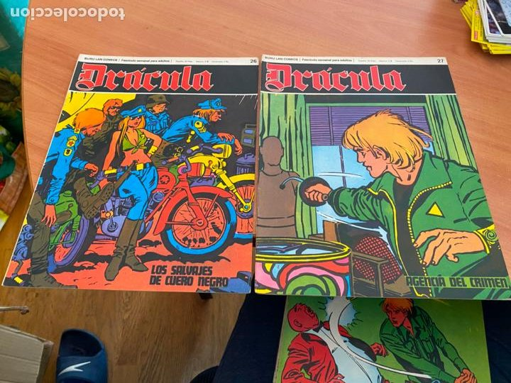 Cómics: DRACULA LOTE 23 EJEMPLARES (BURULAN) (COIB205) - Foto 6 - 275138943