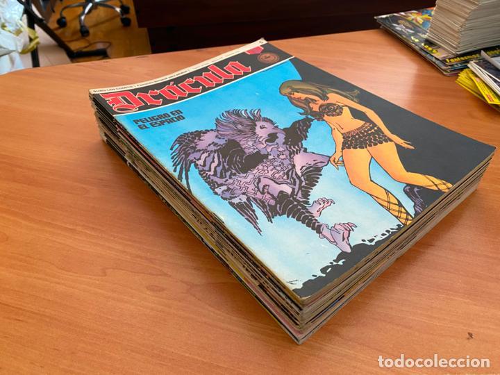 DRACULA LOTE 23 EJEMPLARES (BURULAN) (COIB205) (Tebeos y Comics - Buru-Lan - Drácula)