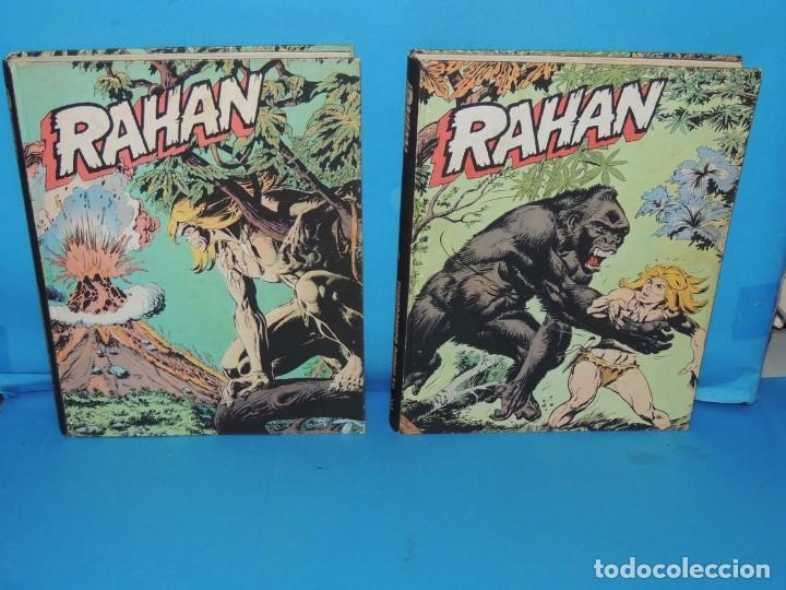 Cómics: RAHAN. 2 TOMOS COMPLETA . BURU LAN 1974 - Foto 2 - 275306883
