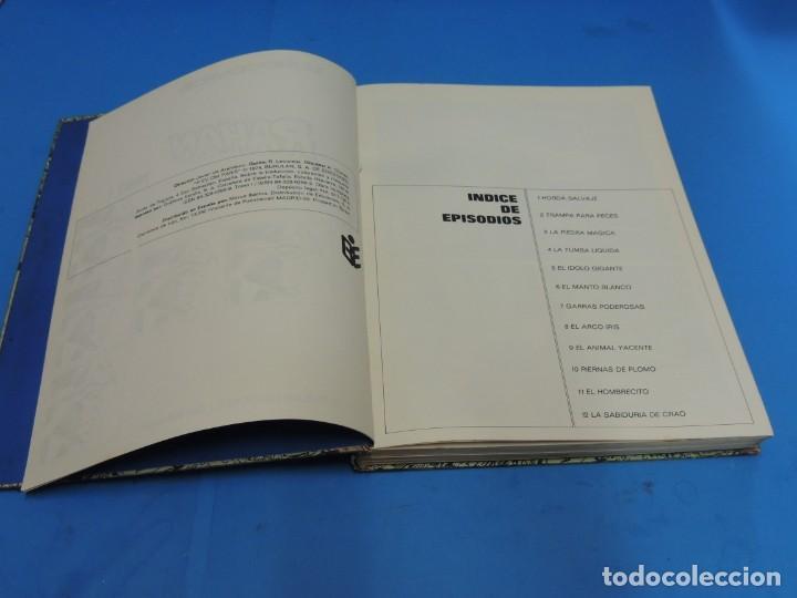 Cómics: RAHAN. 2 TOMOS COMPLETA . BURU LAN 1974 - Foto 5 - 275306883