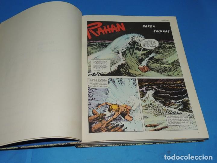 Cómics: RAHAN. 2 TOMOS COMPLETA . BURU LAN 1974 - Foto 6 - 275306883