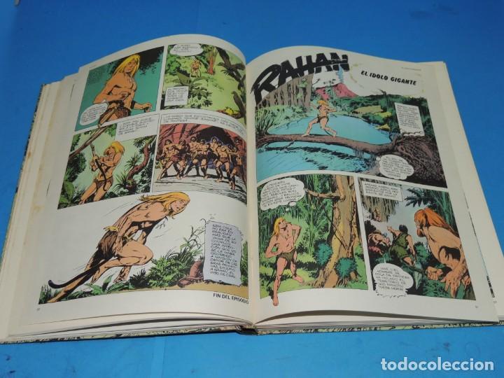 Cómics: RAHAN. 2 TOMOS COMPLETA . BURU LAN 1974 - Foto 9 - 275306883