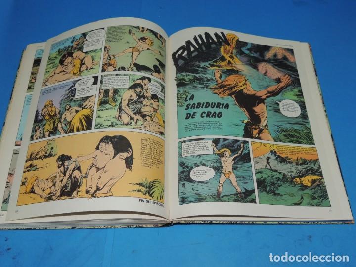 Cómics: RAHAN. 2 TOMOS COMPLETA . BURU LAN 1974 - Foto 13 - 275306883