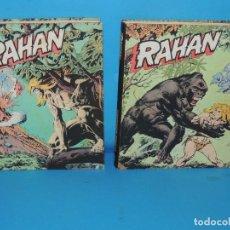 Cómics: RAHAN. 2 TOMOS COMPLETA . BURU LAN 1974. Lote 275306883