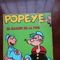 Cómics: CÓMIC DE POPEYE. EL MARINO DE LA PIPA. Nº 2. EDICIONES BURU LAN. 1970. Lote 275537158