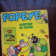 Cómics: CÓMIC DE POPEYE. CAMPEÓN DE BOXEO. Nº 3. EDICIONES BURU LAN. 1970. Lote 275537523