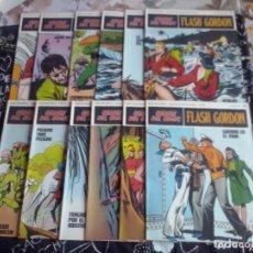 Cómics: BURU LAN: HEROES DEL COMIC FLASH GORDON NUM. 13 AL 24 EN PERFECTO ESTADO + TAPAS. ( BURULAN 25 PTS.). Lote 275679428