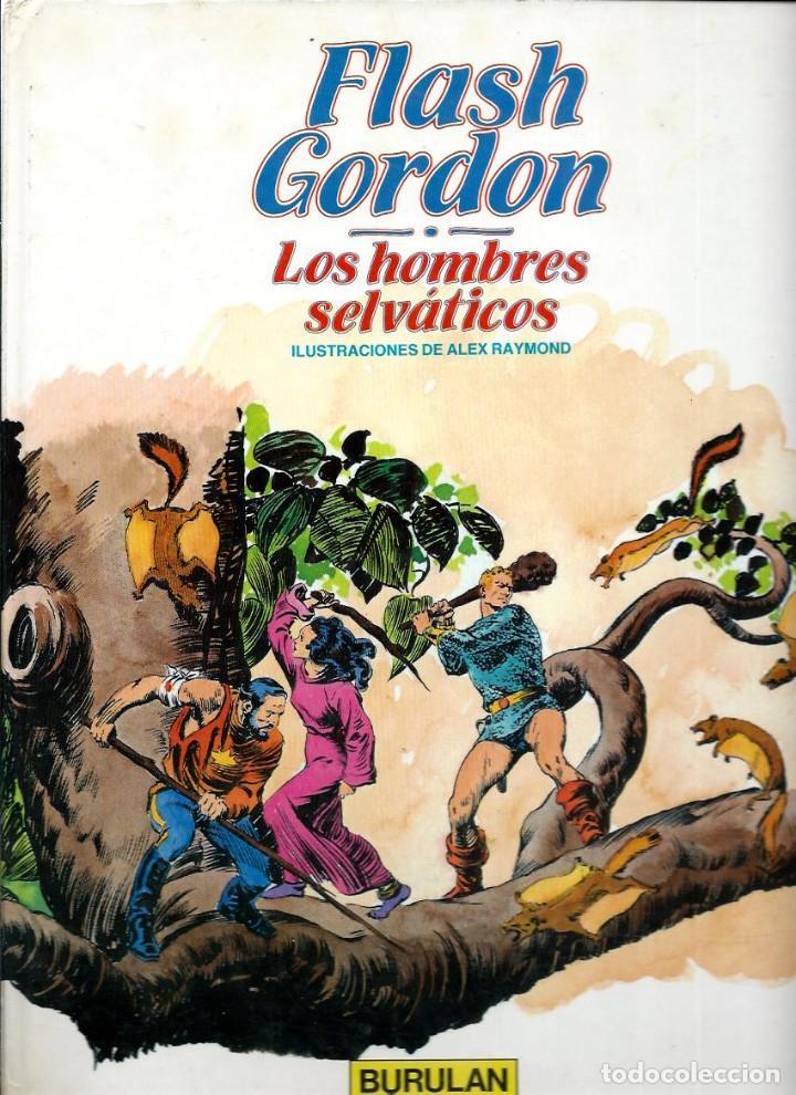 FLASH GORDON Nº 6 - LOS HOMBRES SELVATICOS - BURU LAN 1983 (Tebeos y Comics - Buru-Lan - Flash Gordon)