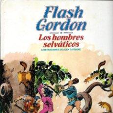 Cómics: FLASH GORDON Nº 6 - LOS HOMBRES SELVATICOS - BURU LAN 1983. Lote 275735053