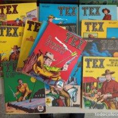 Cómics: LOTE DE 28 NÚMEROS DE TEX DE BURU LAN EDICIONES,1971 EN MUY BUEN ESTADO.. Lote 276012363