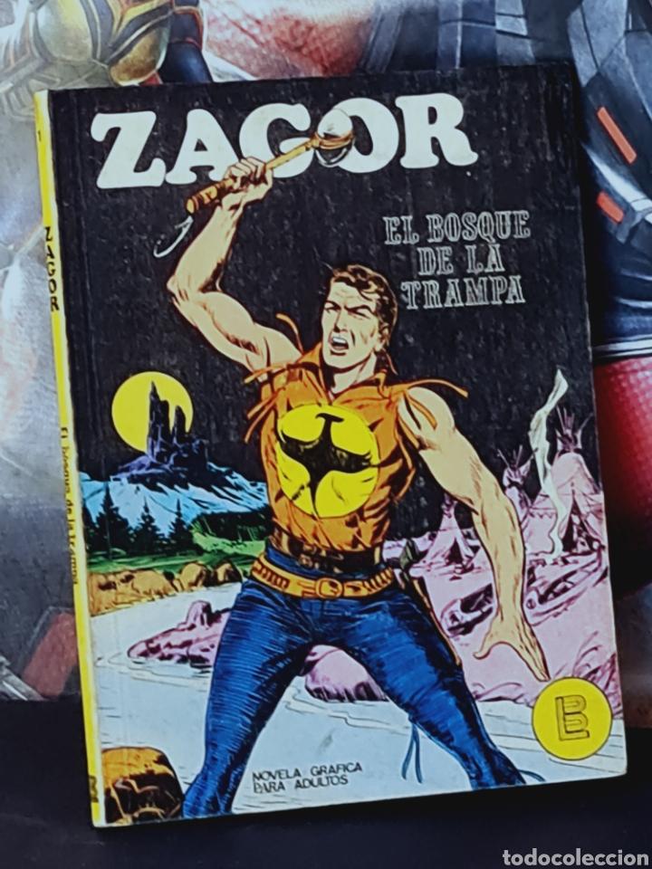 MUY BUEN ESTADO ZAGOR 1 TACO BURU LAN EDICIONES (Tebeos y Comics - Buru-Lan - Zagor)