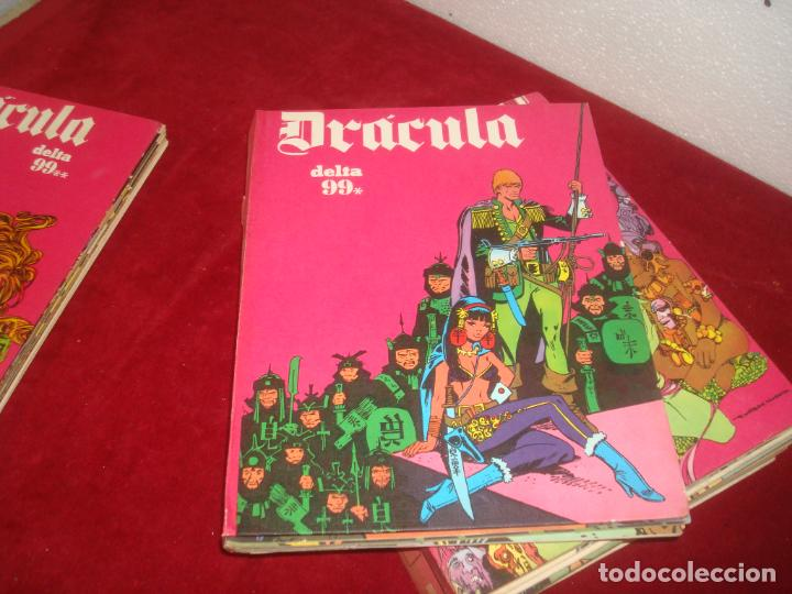 Cómics: dracula burulan 4 tomos comic sin encuadernar leer - Foto 3 - 276949783