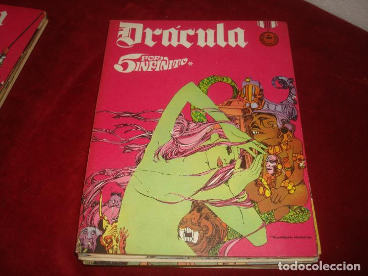 Cómics: dracula burulan 4 tomos comic sin encuadernar leer - Foto 4 - 276949783