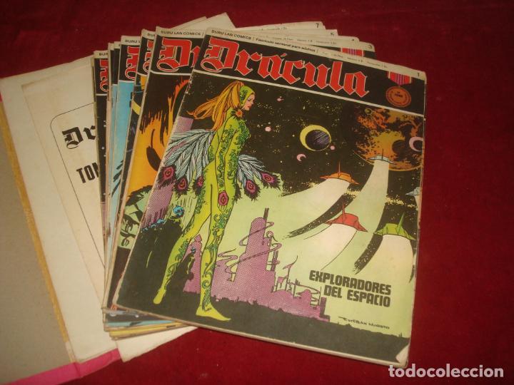 Cómics: dracula burulan 4 tomos comic sin encuadernar leer - Foto 6 - 276949783
