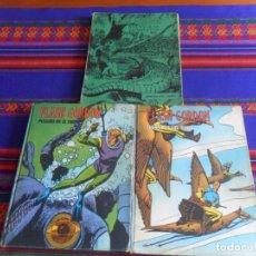 Cómics: FLASH GORDON AVENTURAS COMPLETAS Nº 4 Y HÉROES DEL COMIC TOMOS NºS VII Y X. BURU LAN 1972.. Lote 277045243