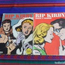 Cómics: RIP KIRBY TOMOS NºS II MANGLER, EL TRITURADOR Y IV LA MISTERIOSA CASA DE MUÑECAS. BURU LAN 1973.. Lote 277046063