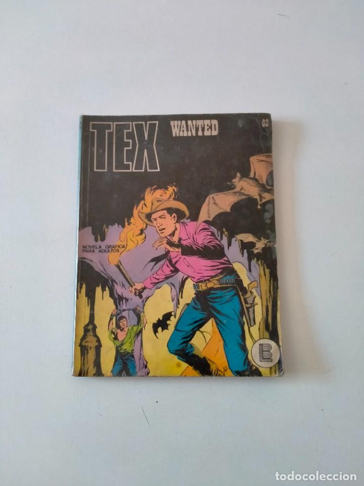 TEX NÚMERO 62 BURU LAN EDICIONES AÑO 1972 (Tebeos y Comics - Buru-Lan - Tex)