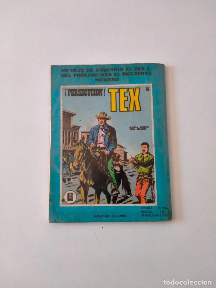 Cómics: Tex número 62 Buru Lan Ediciones Año 1972 - Foto 2 - 277224948