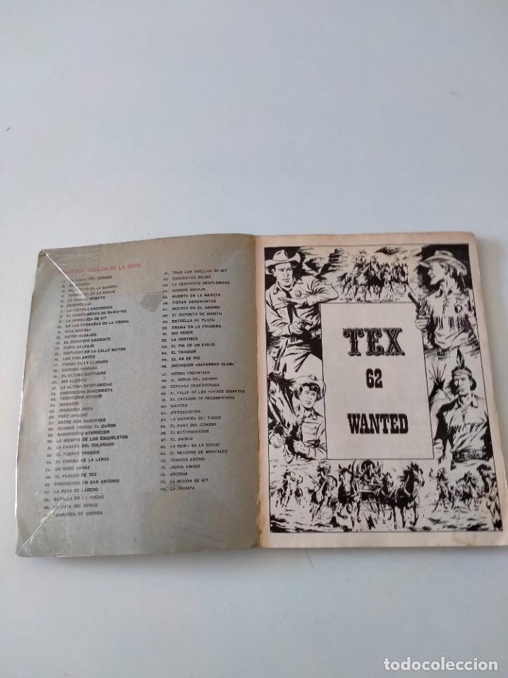 Cómics: Tex número 62 Buru Lan Ediciones Año 1972 - Foto 4 - 277224948