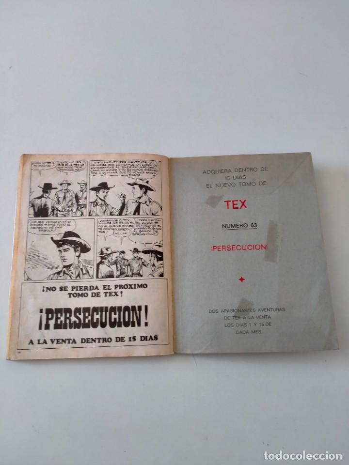 Cómics: Tex número 62 Buru Lan Ediciones Año 1972 - Foto 8 - 277224948