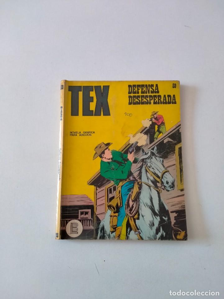 TEX NÚMERO 59 BURU LAN EDICIONES AÑO 1972 (Tebeos y Comics - Buru-Lan - Tex)