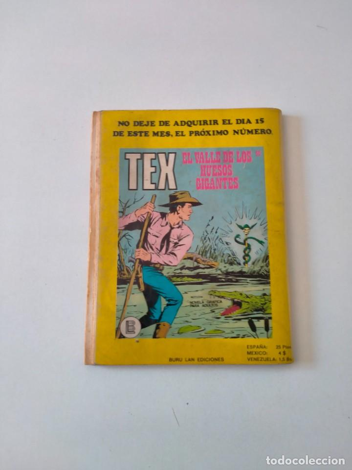 Cómics: Tex número 59 Buru Lan Ediciones Año 1972 - Foto 2 - 277225503