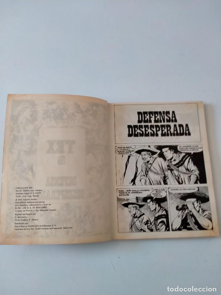Cómics: Tex número 59 Buru Lan Ediciones Año 1972 - Foto 4 - 277225503